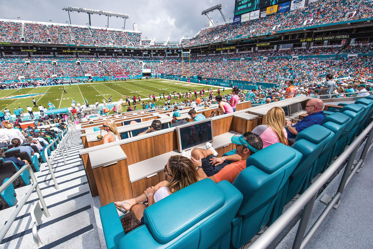 Hard Rock Stadium Fun In The Sun And Shade Alsd
